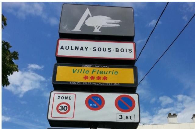 Aulnay zone 30 km h